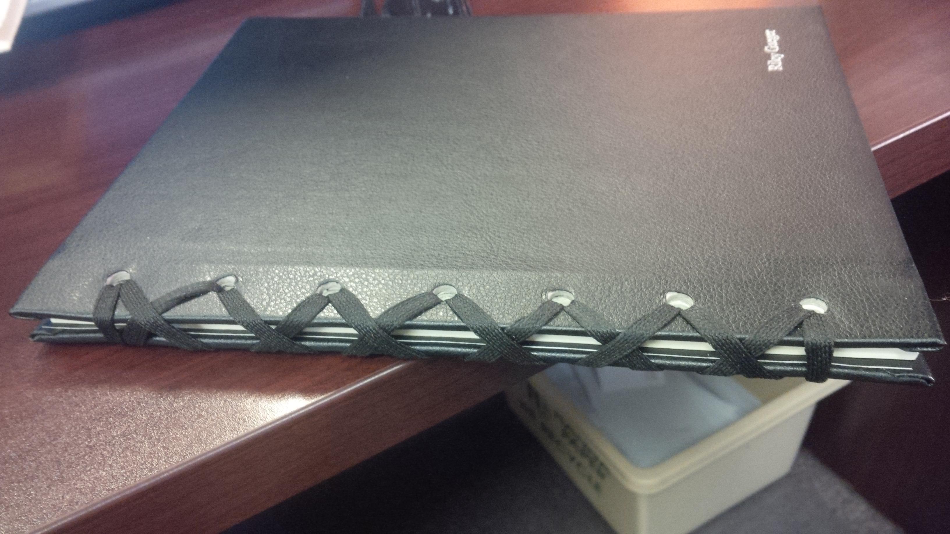 Japanese Ribbon Binding New From Advantage Book Binding