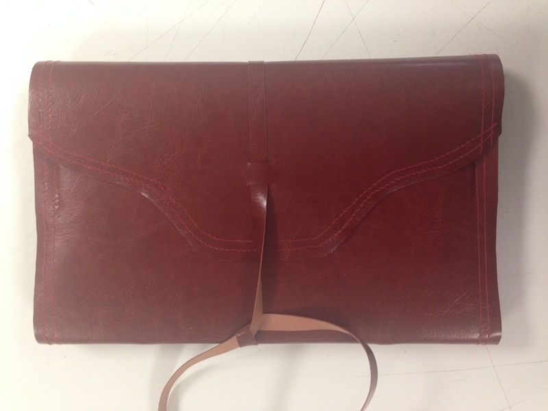 custom leather books from advantage book binding